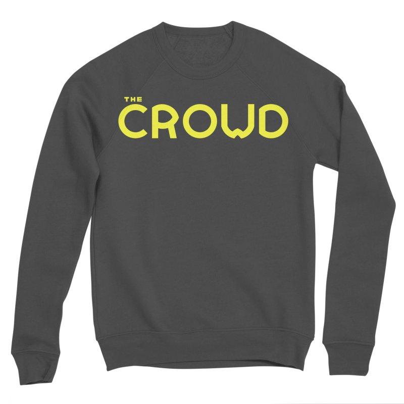 Gold Logo Women's Sponge Fleece Sweatshirt by thecrowd's Artist Shop