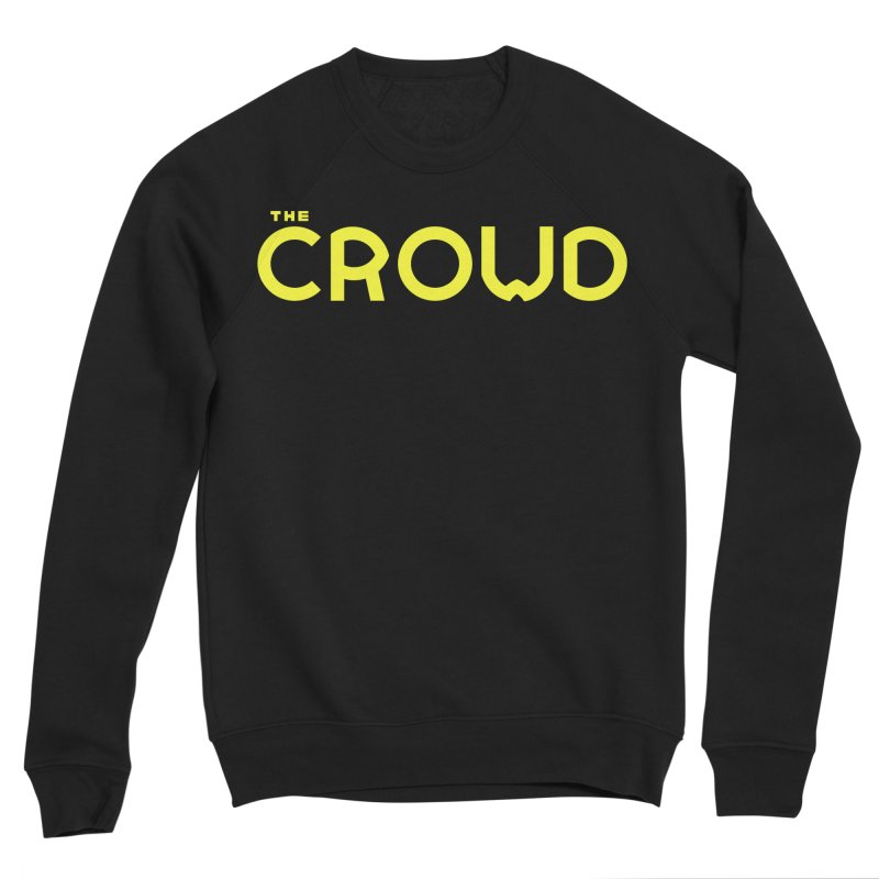 Gold Logo Men's Sponge Fleece Sweatshirt by thecrowd's Artist Shop