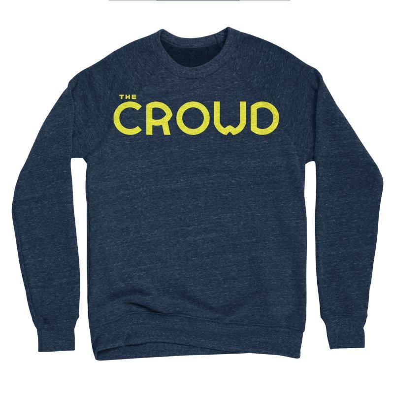 Gold Logo Men's Sponge Fleece Sweatshirt by thecrowd's Artist Shop
