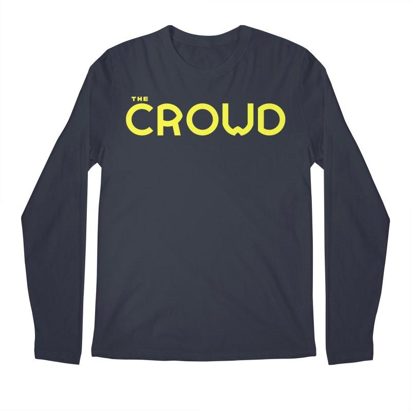 Gold Logo Men's Longsleeve T-Shirt by thecrowd's Artist Shop