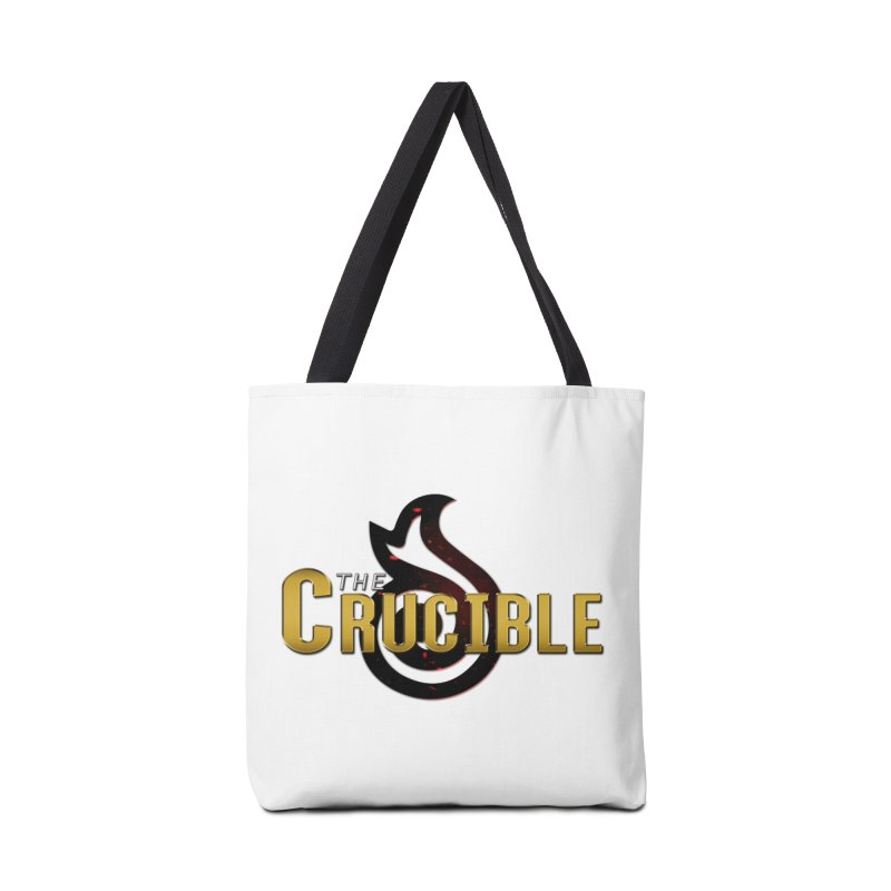 Crucible Logo Gear Accessories Tote Bag Bag by The Crucible FFXIV