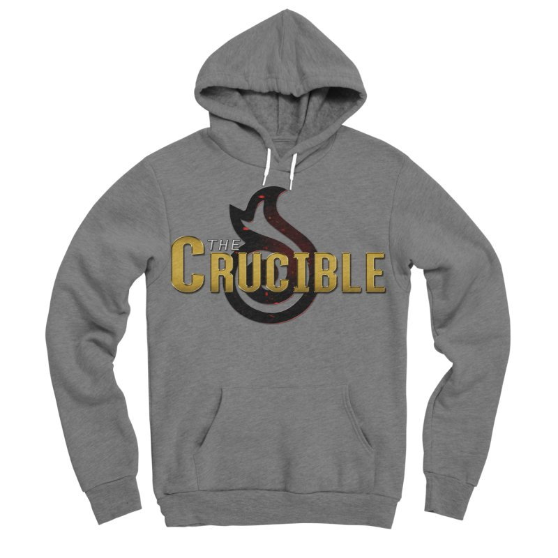 Crucible Logo Gear Women's Sponge Fleece Pullover Hoody by The Crucible FFXIV