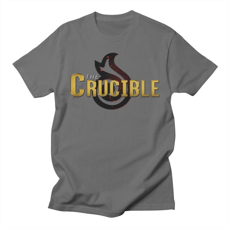 Crucible Logo Gear Men's T-Shirt by The Crucible FFXIV