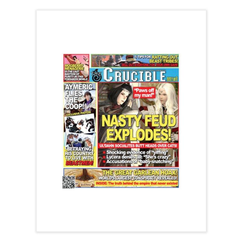 May 2017 Print Home Fine Art Print by The Crucible FFXIV