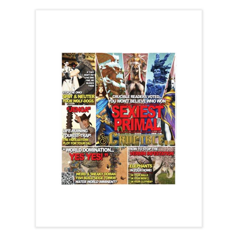 July 2018 Print Home Fine Art Print by The Crucible FFXIV