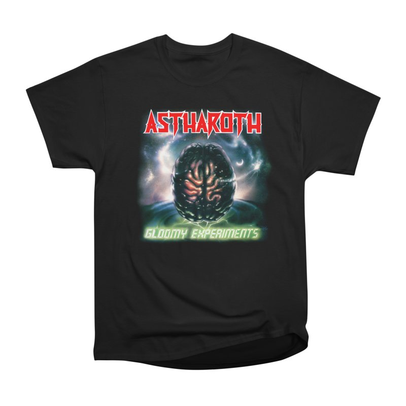 ASTHAROTH - Gloomy Experiments in Men's Heavyweight T-Shirt Black by DARK SYMPHONIES / THE CRYPT Apparel