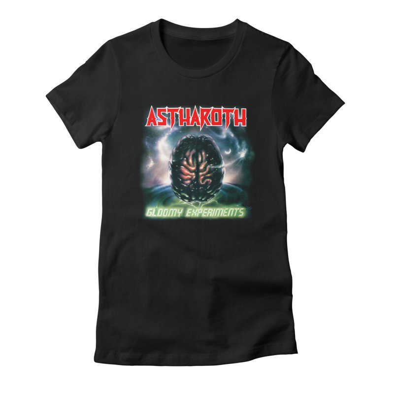 ASTHAROTH - Gloomy Experiments Women's T-Shirt by DARK SYMPHONIES / THE CRYPT Apparel