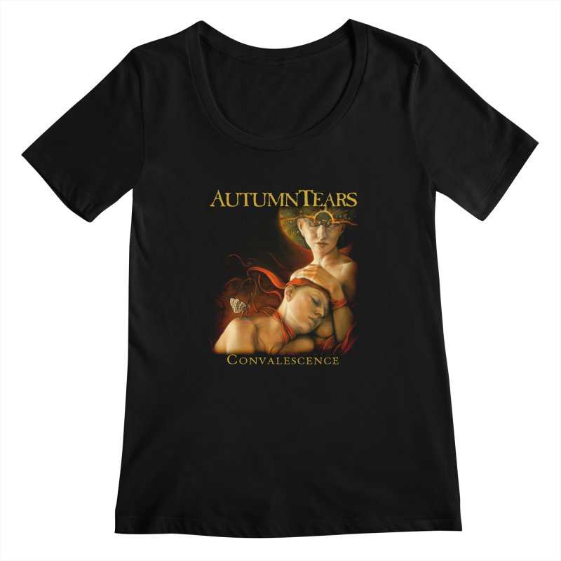 AUTUMN TEARS - Convalescence Women's Scoopneck by DARK SYMPHONIES / THE CRYPT Apparel