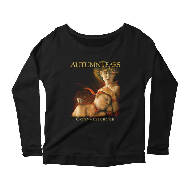 AUTUMN TEARS - Convalescence Women's Longsleeve Scoopneck  by DARK SYMPHONIES / THE CRYPT Apparel