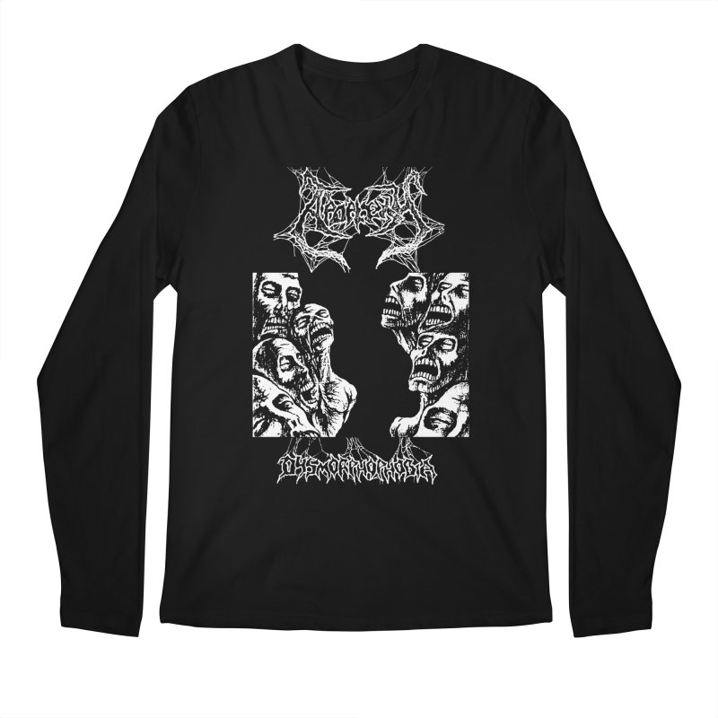 APOPLEXY - Dysmorphophobia (Variant) Men's Longsleeve T-Shirt by DARK SYMPHONIES / THE CRYPT Apparel