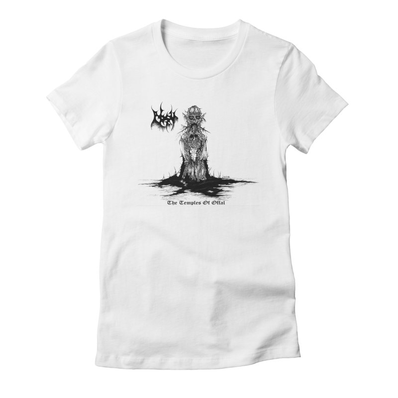 ABSU - The Temples Of Offal Women's T-Shirt by DARK SYMPHONIES / THE CRYPT Apparel