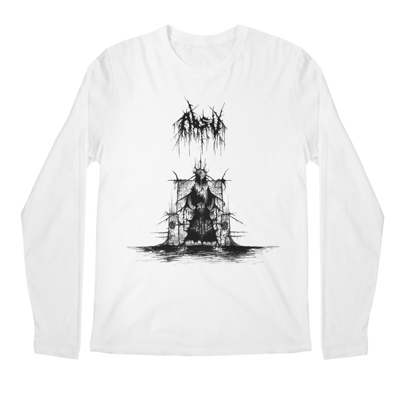 ABSU - The Temples Of Offal (Variant) Men's Longsleeve T-Shirt by DARK SYMPHONIES / THE CRYPT Apparel