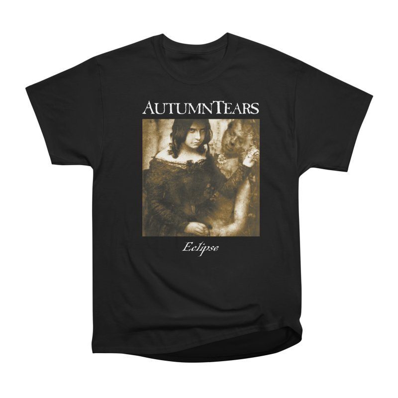 AUTUMN TEARS - Eclipse in Men's Heavyweight T-Shirt Black by DARK SYMPHONIES / THE CRYPT Apparel