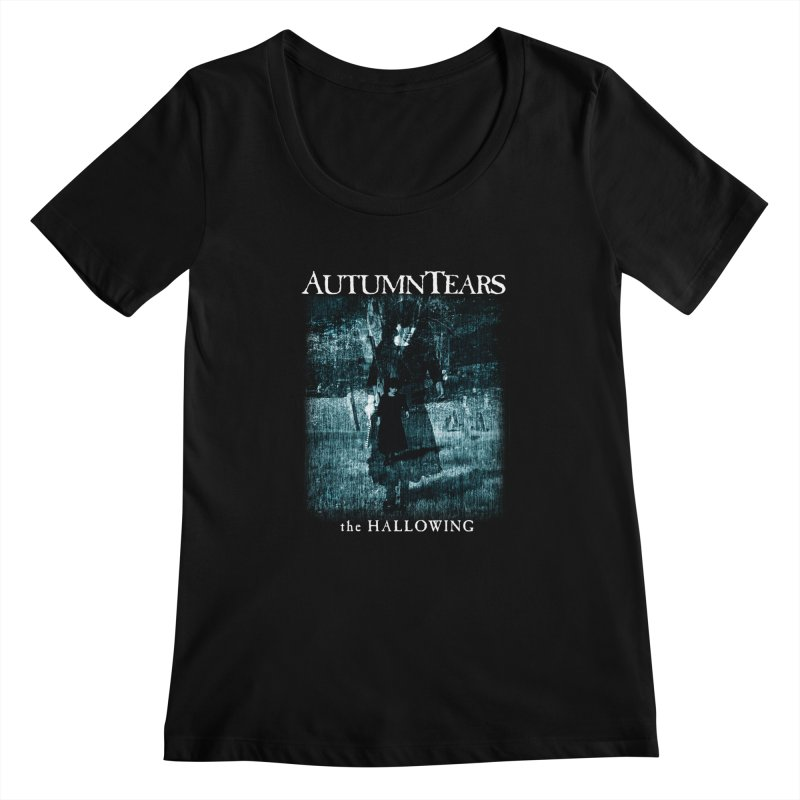 AUTUMN TEARS - The Hallowing Women's Scoopneck by DARK SYMPHONIES / THE CRYPT Apparel