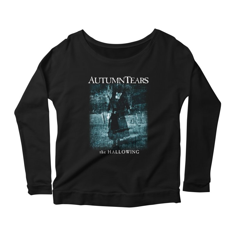 AUTUMN TEARS - The Hallowing Women's Longsleeve Scoopneck  by DARK SYMPHONIES / THE CRYPT Apparel