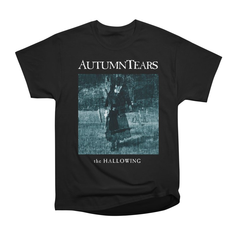 AUTUMN TEARS - The Hallowing in Men's Heavyweight T-Shirt Black by DARK SYMPHONIES / THE CRYPT Apparel