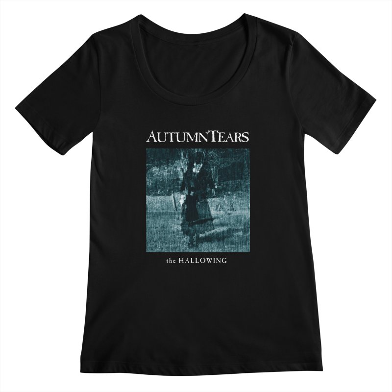 AUTUMN TEARS - The Hallowing Women's Regular Scoop Neck by DARK SYMPHONIES / THE CRYPT Apparel