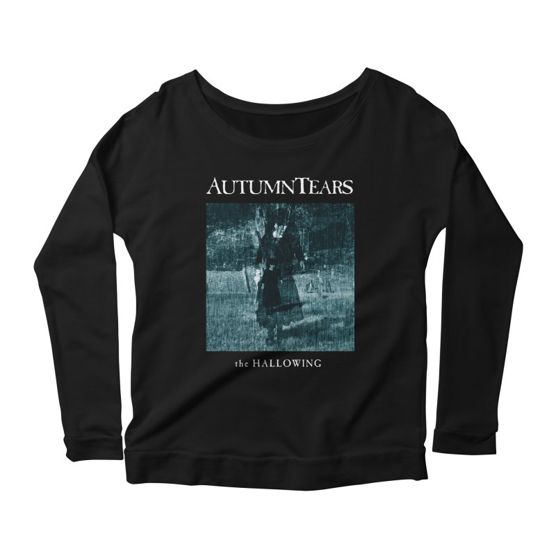 AUTUMN TEARS - The Hallowing Women's Scoop Neck Longsleeve T-Shirt by DARK SYMPHONIES / THE CRYPT Apparel