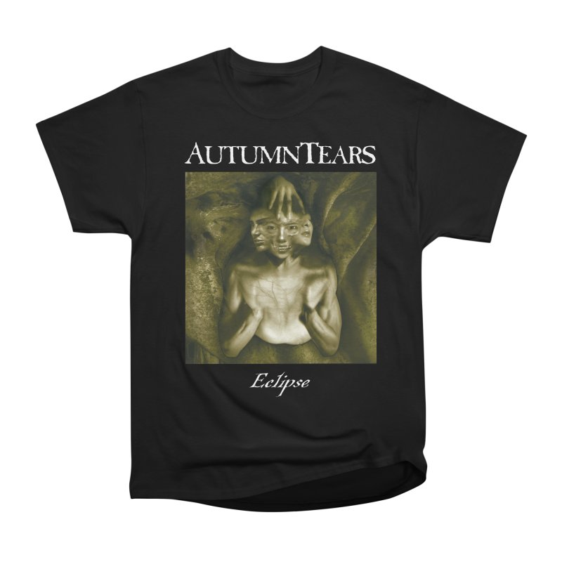 AUTUMN TEARS - Eclipse (Variant) in Men's Heavyweight T-Shirt Black by DARK SYMPHONIES / THE CRYPT Apparel