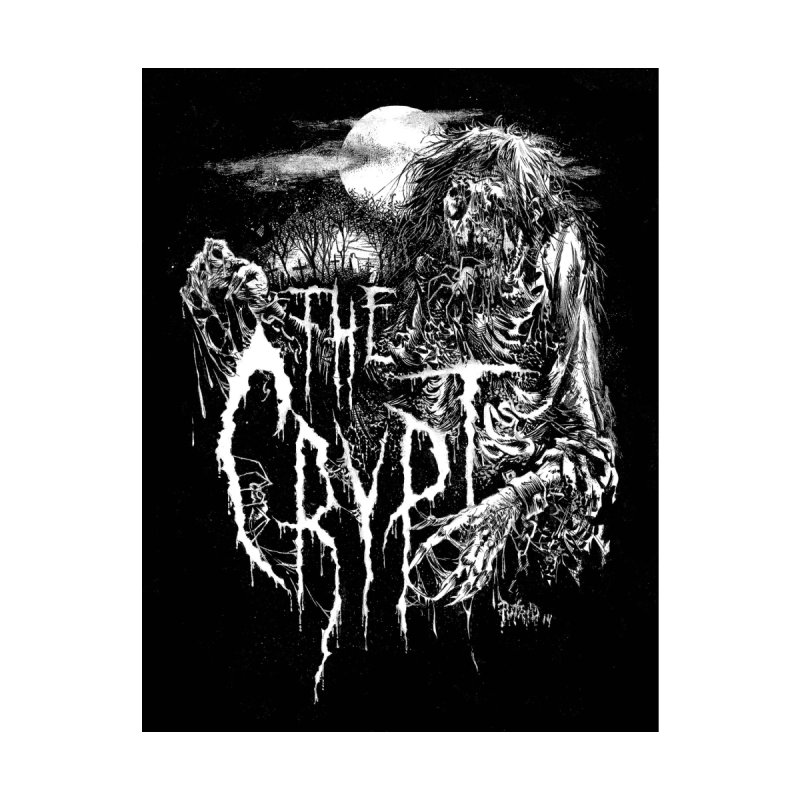 THE CRYPT (Label Logo) Men's T-Shirt by DARK SYMPHONIES / THE CRYPT Apparel