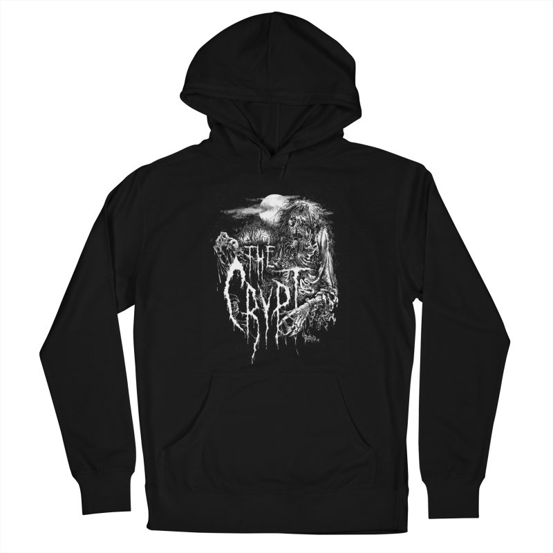 THE CRYPT (Label Logo) Women's Pullover Hoody by DARK SYMPHONIES / THE CRYPT Apparel