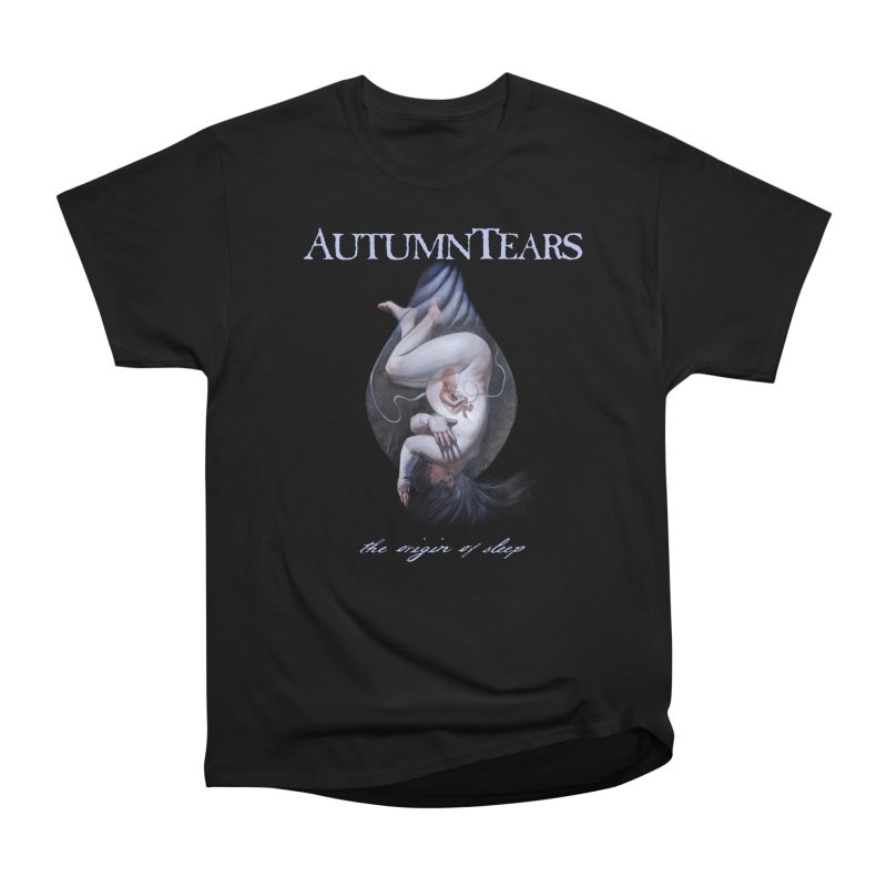 AUTUMN TEARS - The Origin Of Sleep (Variant) in Men's Heavyweight T-Shirt Black by DARK SYMPHONIES / THE CRYPT Apparel
