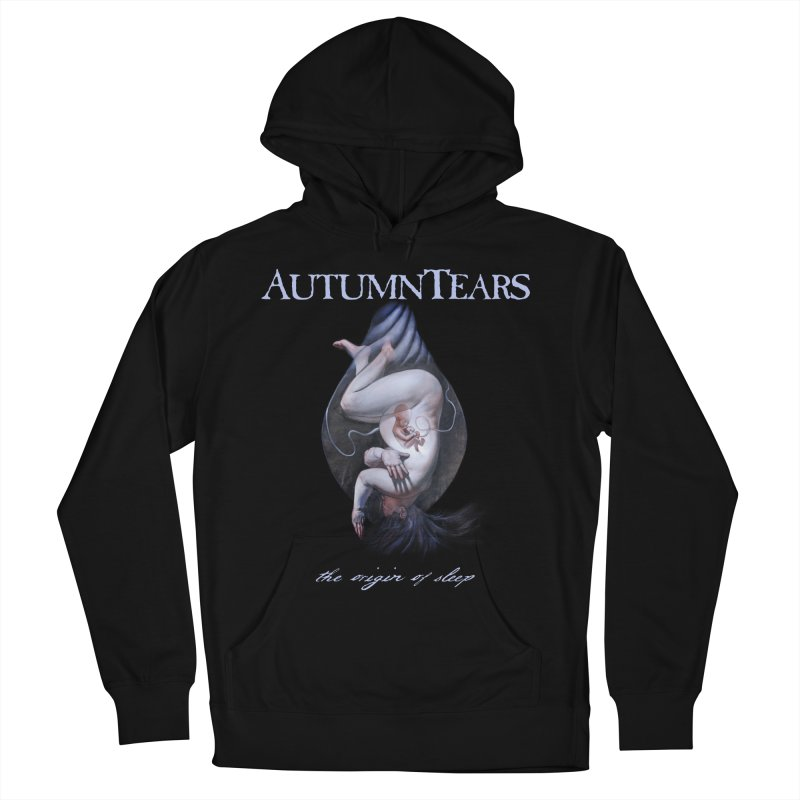AUTUMN TEARS - The Origin Of Sleep (Variant) Women's French Terry Pullover Hoody by DARK SYMPHONIES / THE CRYPT Apparel