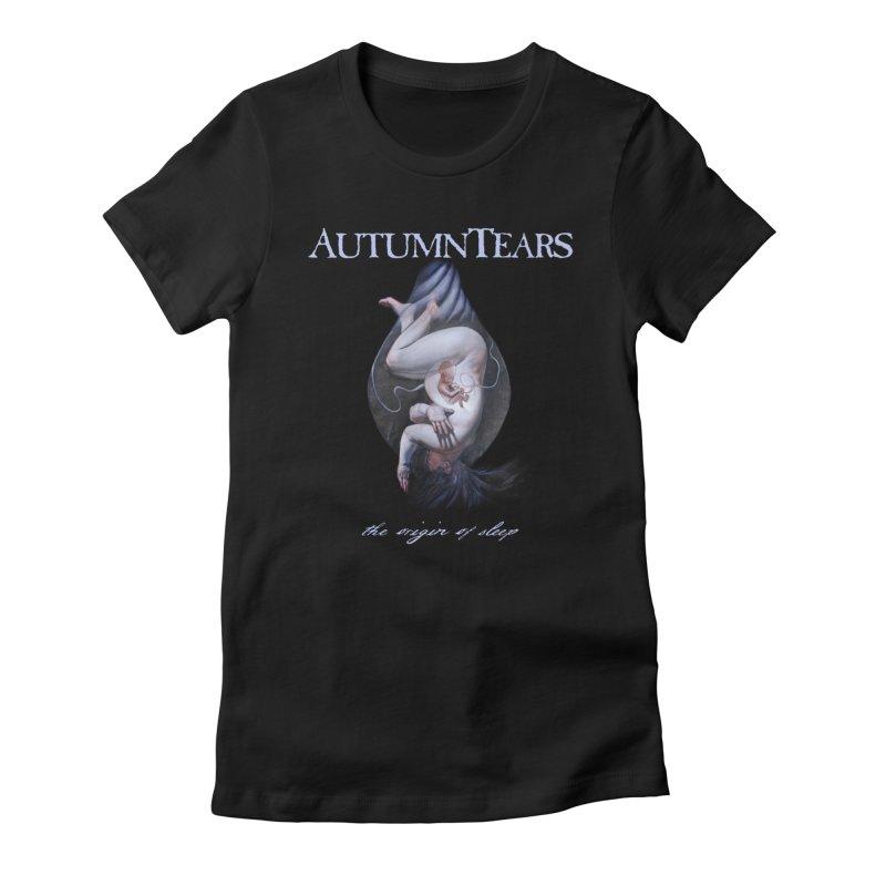 AUTUMN TEARS - The Origin Of Sleep (Variant) Women's T-Shirt by DARK SYMPHONIES / THE CRYPT Apparel