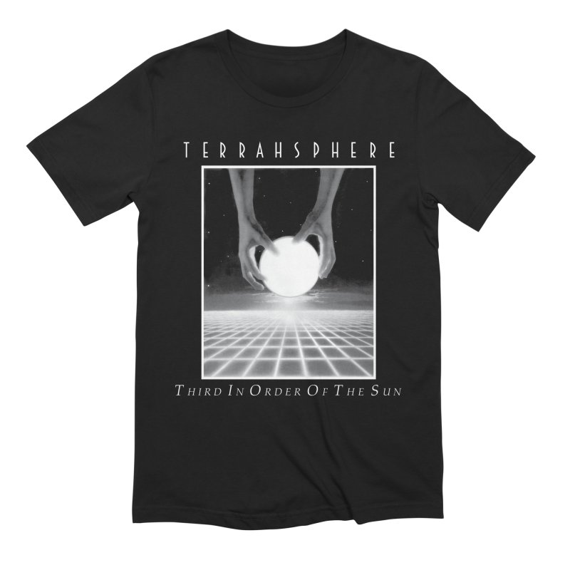 TERRAHSPHERE - Third In Order Of The Sun Men's Extra Soft T-Shirt by DARK SYMPHONIES / THE CRYPT Apparel