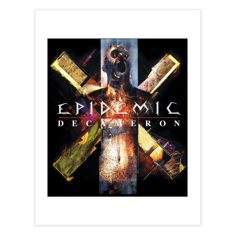 EPIDEMIC - Decameron Home Fine Art Print by DARK SYMPHONIES / THE CRYPT Apparel