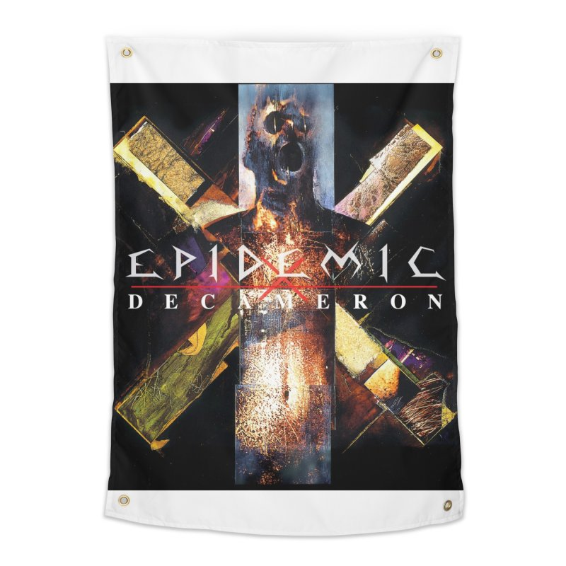 EPIDEMIC - Decameron Home Tapestry by DARK SYMPHONIES / THE CRYPT Apparel