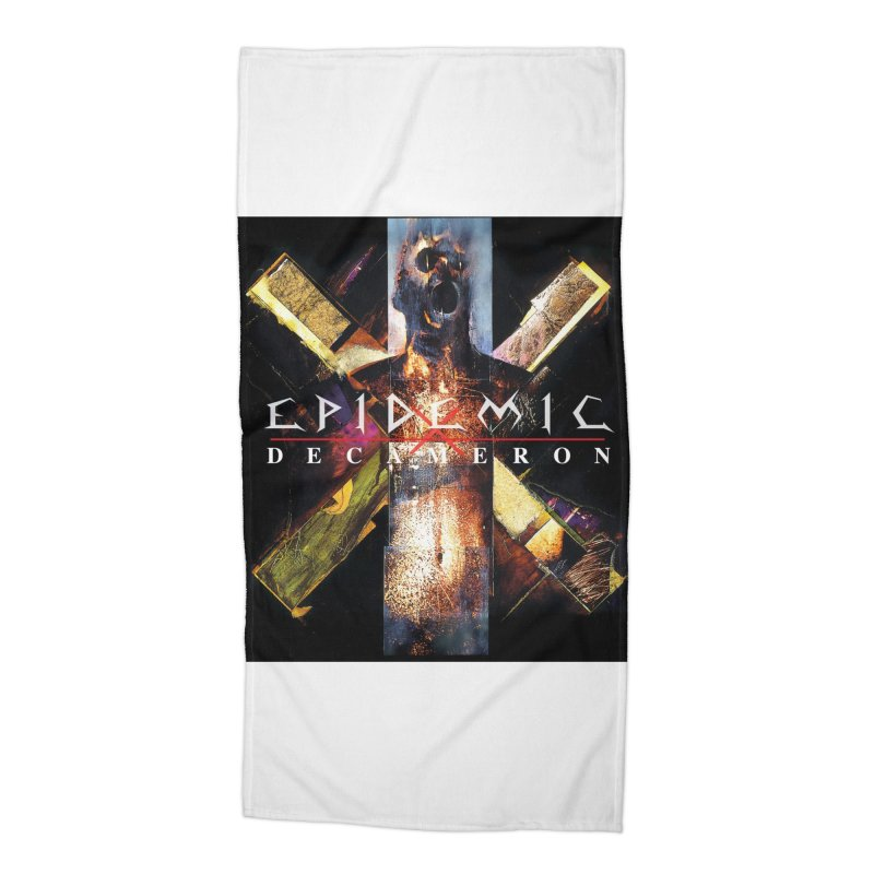 EPIDEMIC - Decameron Accessories Beach Towel by DARK SYMPHONIES / THE CRYPT Apparel