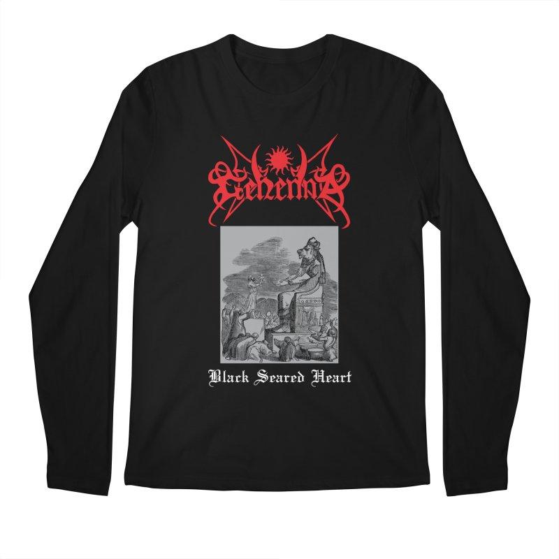 GEHENNA - Black Seared Heart Men's Longsleeve T-Shirt by DARK SYMPHONIES / THE CRYPT Apparel