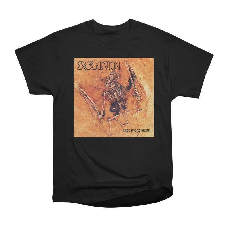 EXCRUCIATION - Last Judgement Men's Heavyweight T-Shirt by DARK SYMPHONIES / THE CRYPT Apparel