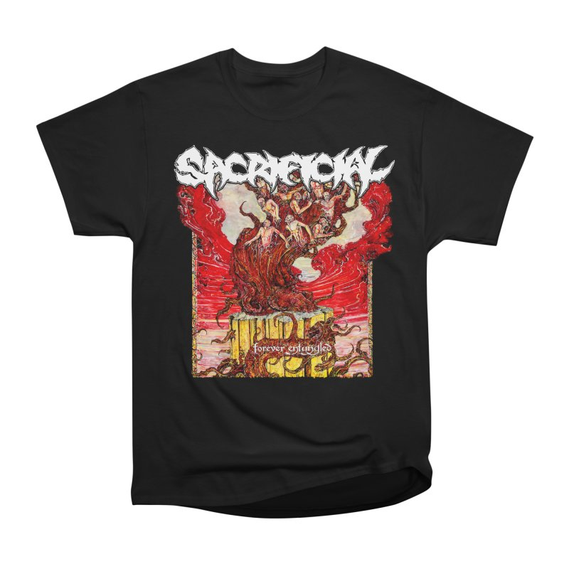 SACRIFICIAL - Forever Entangled Men's Heavyweight T-Shirt by DARK SYMPHONIES / THE CRYPT Apparel