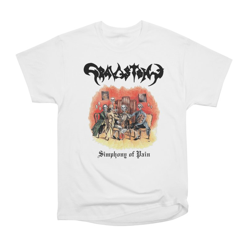 GRAVESTONE - Simphony Of Pain Men's Heavyweight T-Shirt by DARK SYMPHONIES / THE CRYPT Apparel
