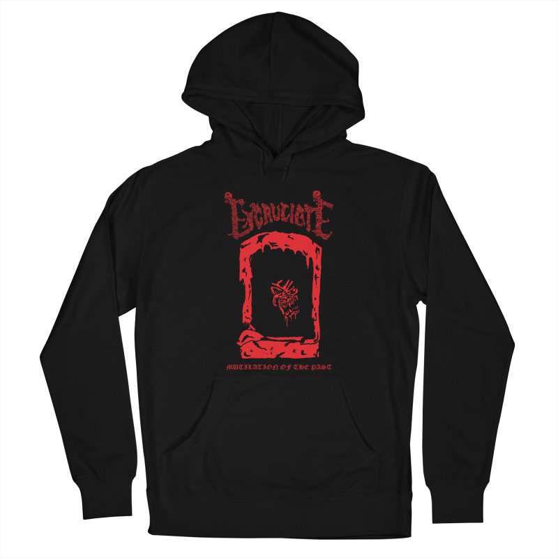 EXCRUCIATE - Mutilation Of The Past (Variant) Men's Pullover Hoody by DARK SYMPHONIES / THE CRYPT Apparel