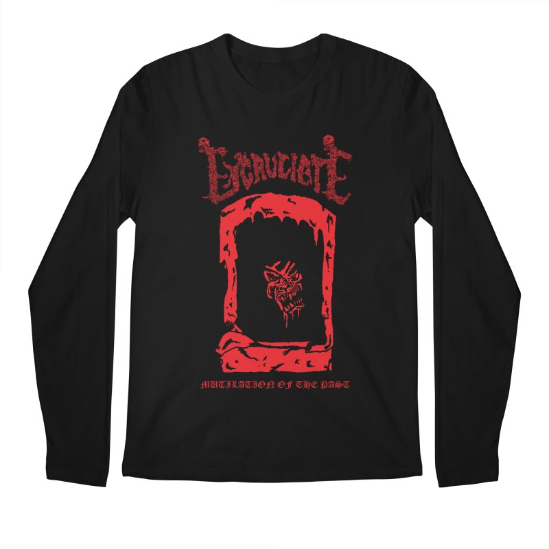 EXCRUCIATE - Mutilation Of The Past (Variant) Men's Longsleeve T-Shirt by DARK SYMPHONIES / THE CRYPT Apparel