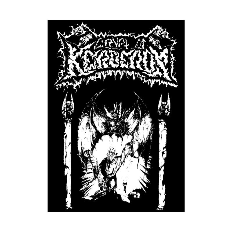 CRYPT OF KERBEROS - Demo cover by DARK SYMPHONIES / THE CRYPT Apparel