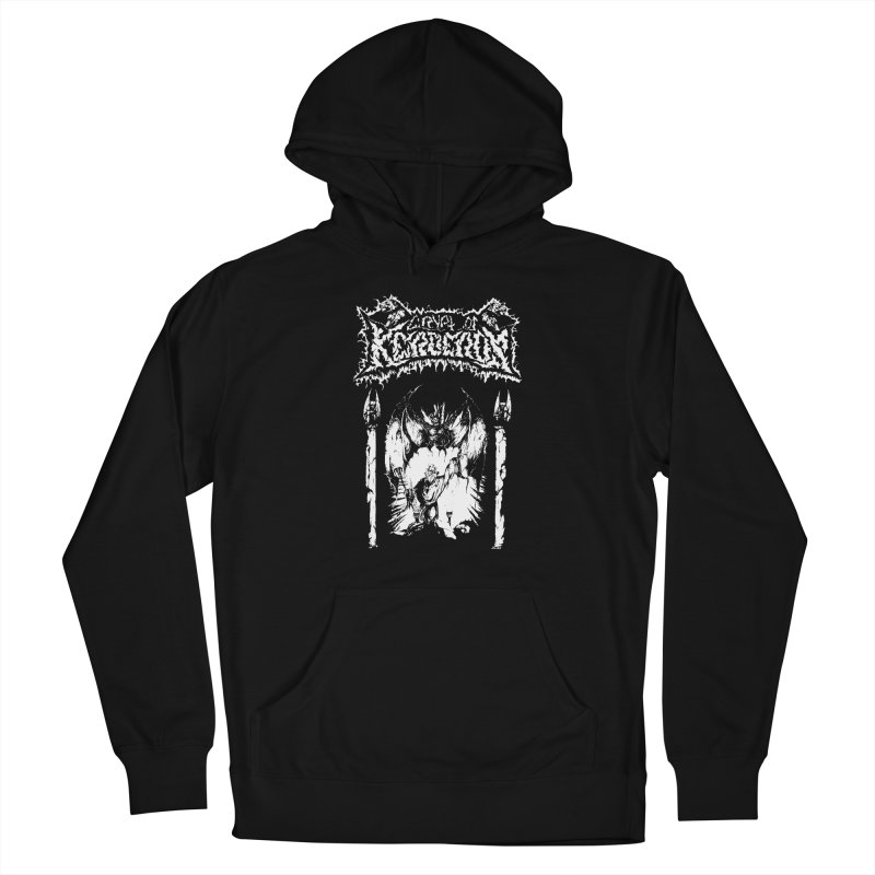 CRYPT OF KERBEROS - Demo cover Men's Pullover Hoody by DARK SYMPHONIES / THE CRYPT Apparel