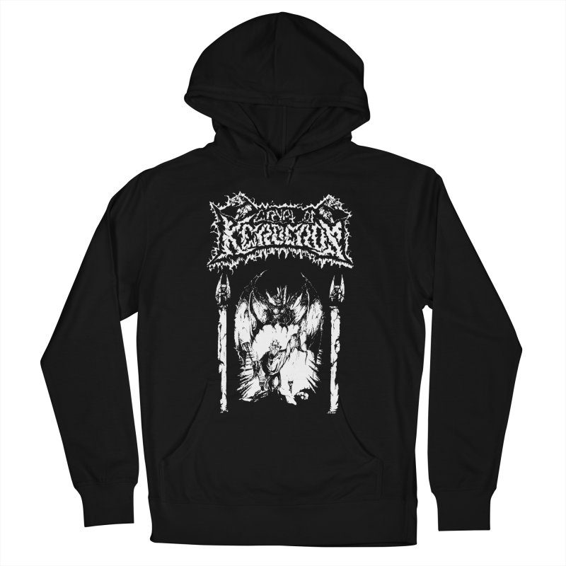 CRYPT OF KERBEROS - Demo cover Men's French Terry Pullover Hoody by DARK SYMPHONIES / THE CRYPT Apparel