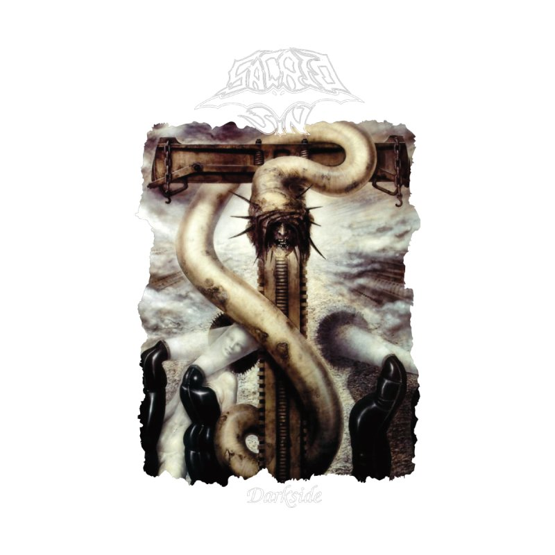 SACRED SIN - Darkside (Black Shirt) Men's T-Shirt by DARK SYMPHONIES / THE CRYPT Apparel