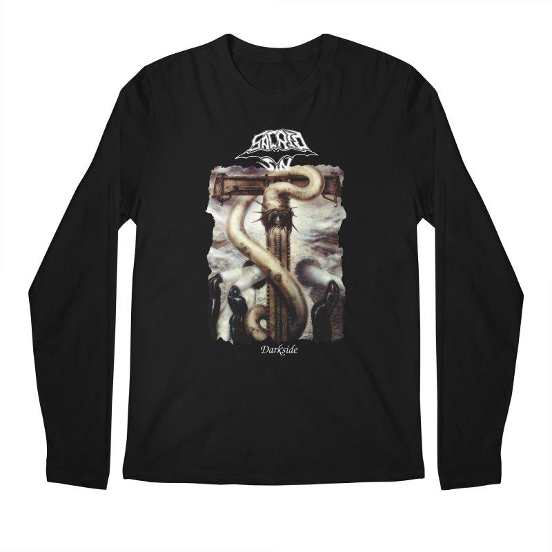 SACRED SIN - Darkside (Black Shirt) Men's Longsleeve T-Shirt by DARK SYMPHONIES / THE CRYPT Apparel