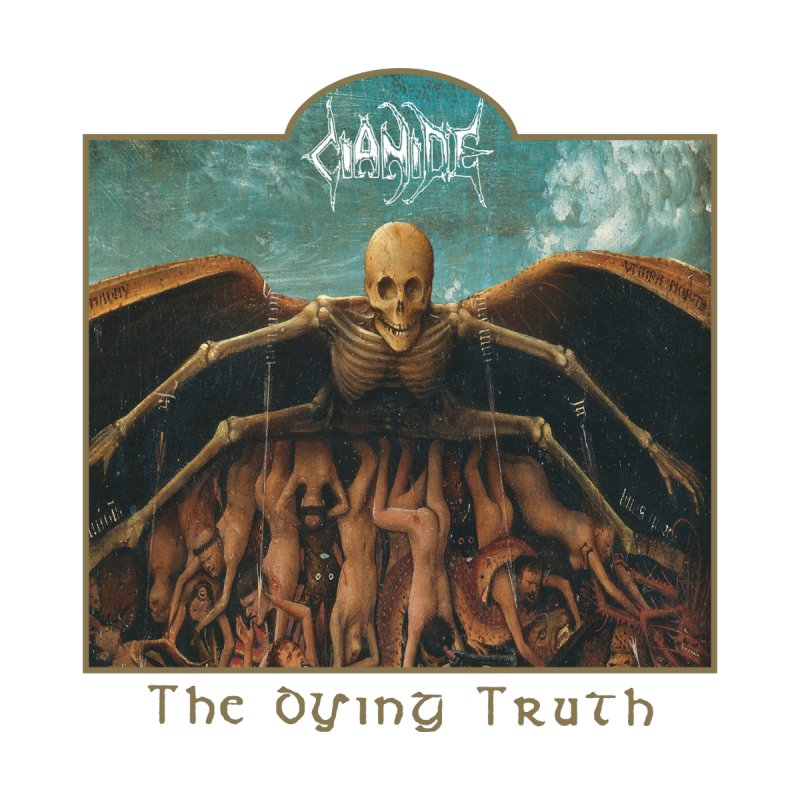 CIANIDE - The Dying Truth Women's T-Shirt by DARK SYMPHONIES / THE CRYPT Apparel