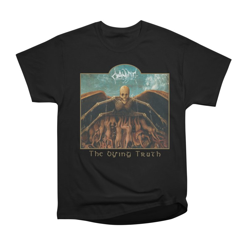 CIANIDE - The Dying Truth Men's Heavyweight T-Shirt by DARK SYMPHONIES / THE CRYPT Apparel