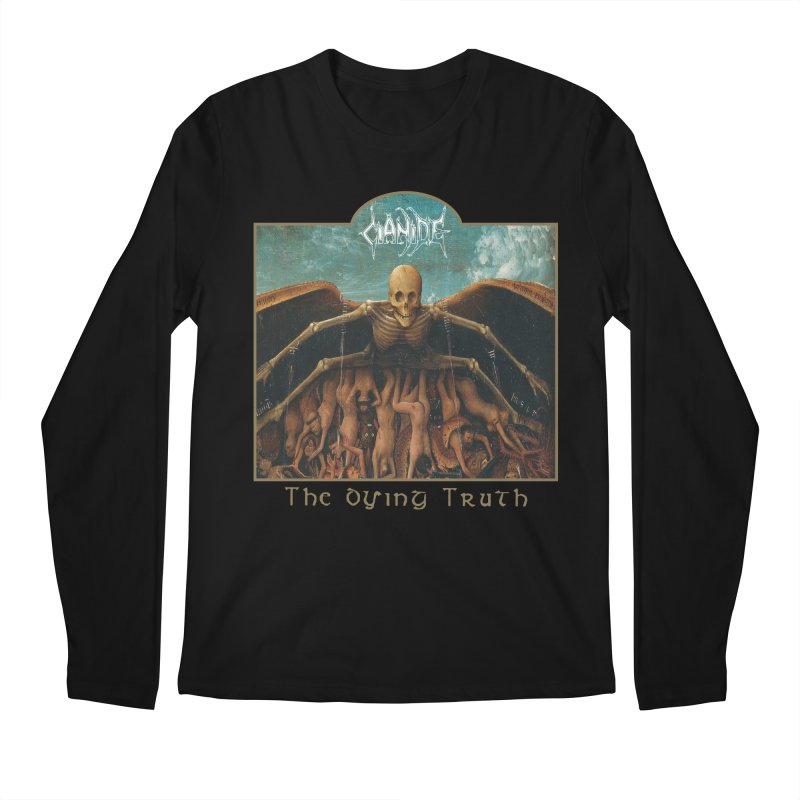 CIANIDE - The Dying Truth Men's Regular Longsleeve T-Shirt by DARK SYMPHONIES / THE CRYPT Apparel