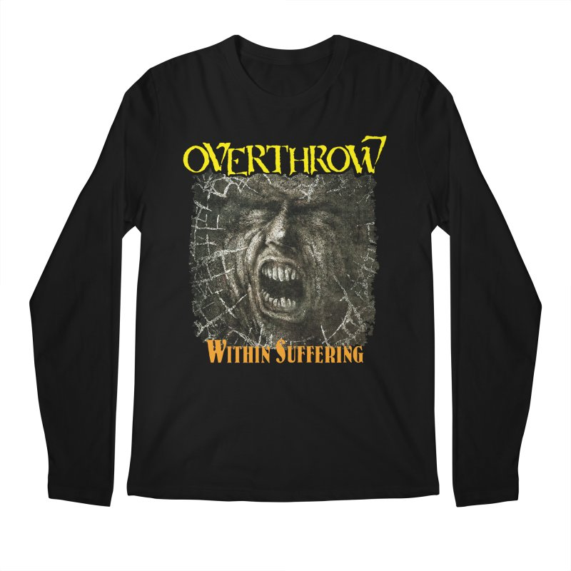 OVERTHROW - Within Suffering Men's Regular Longsleeve T-Shirt by DARK SYMPHONIES / THE CRYPT Apparel