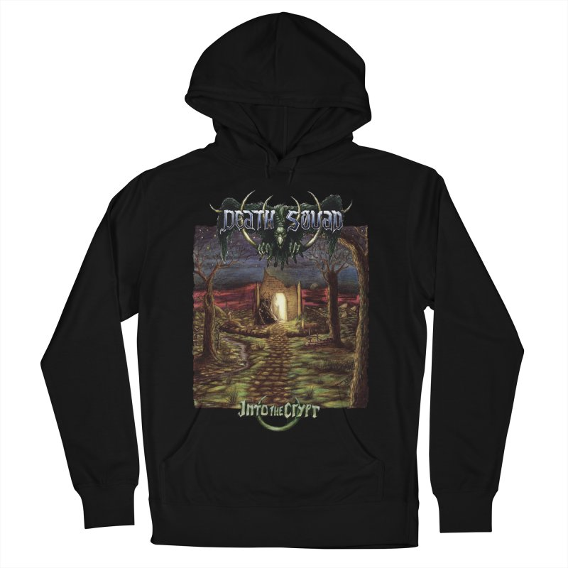 DEATH SQUAD - Into The Crypt Men's French Terry Pullover Hoody by DARK SYMPHONIES / THE CRYPT Apparel
