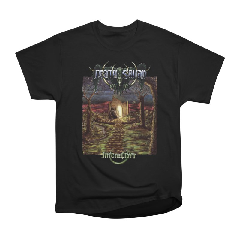 DEATH SQUAD - Into The Crypt Men's Heavyweight T-Shirt by DARK SYMPHONIES / THE CRYPT Apparel