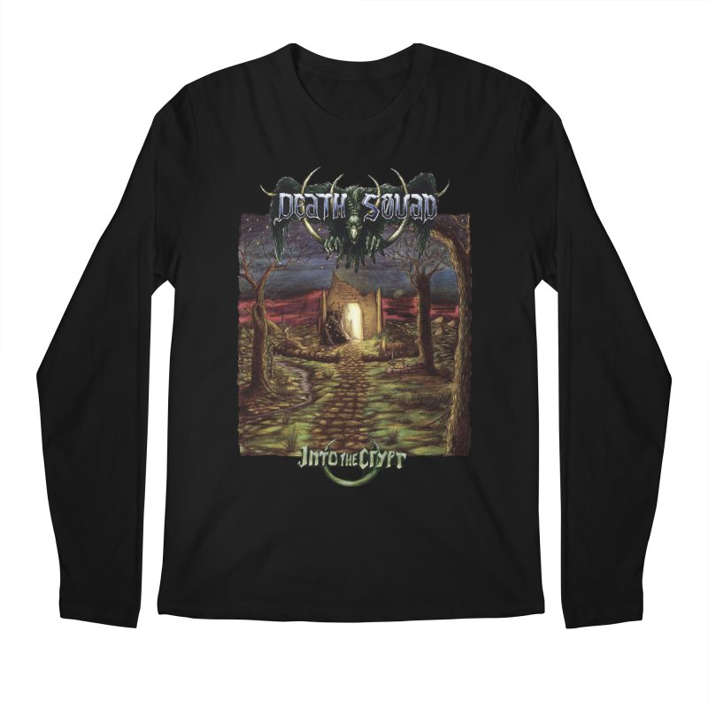 DEATH SQUAD - Into The Crypt Men's Regular Longsleeve T-Shirt by DARK SYMPHONIES / THE CRYPT Apparel